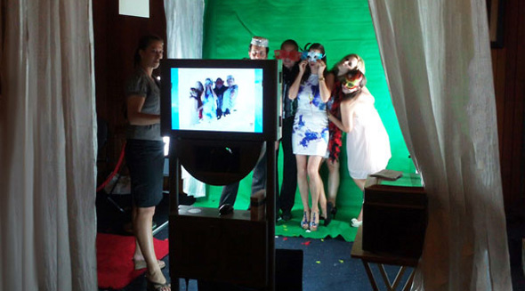 Mobile Green Screen Photo Booths Perth